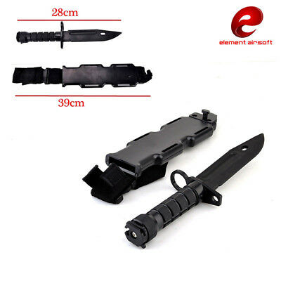Tactical Training Dagger Cosplay Plastics Knife Rubber Training Knifes