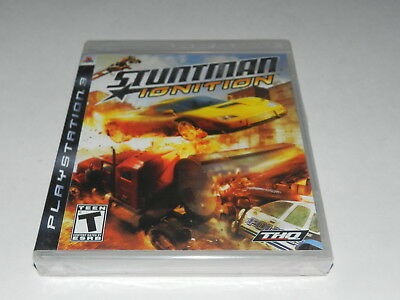 Stuntman Ignition Playstation 3 PS3 Video Game New Sealed