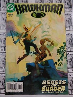 Hawkman (2002) DC - #4, Beasts of Burden, Hawkgirl, Johns/Morales, VF