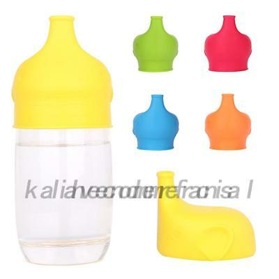 Toddlers Baby Feeding Silicone Sippy Lids For Any Cup Spill Proof Reusable