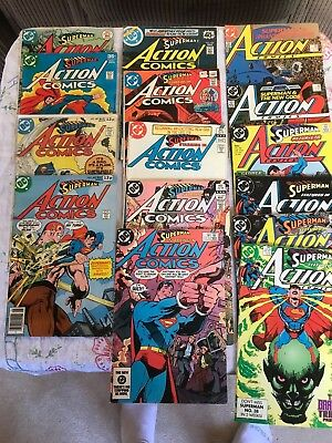 superman featured in action comics