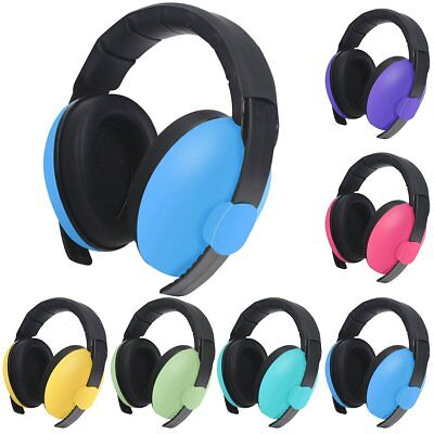 Kid Child Baby Earmuffs Ear Defenders Noise Reduction Comfort Hearing Protection