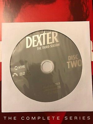 Dexter - Season 3, Disc 2 REPLACEMENT DISC (not full season)