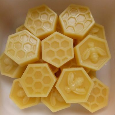 100% PURE Australian Organic Beeswax Triple Filtered 50gm Lip Balm,Wraps,Candles