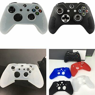 Silicone Rubber Skin Protector Cover Case for Microsoft Xbox One X Controller