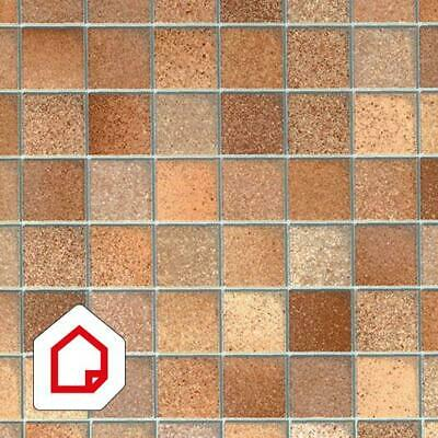 Vinyl Depot high quality anthracite linen self-adhesive 450mm wide //m