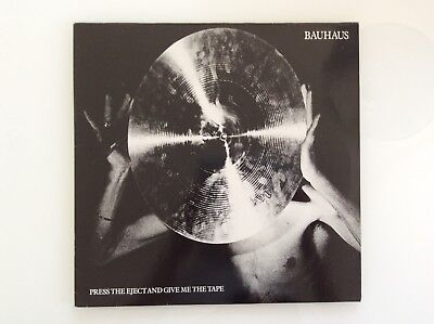 BAUHAUS, Vinyl LP, Press The Enject And Give Me The Tape