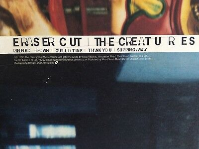 The Creatures / Eraser Cut Vinyl EP / (siouxsie And The Banshees)