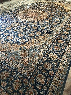 Very Large NAJAFABAD hand Made Rug. 573CM X 375CM