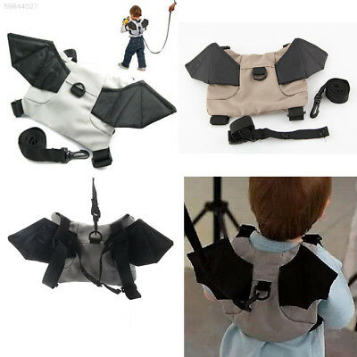 DEB6 Baby Child Toddler Bat Walking Safety Harness Rein Backpack Walker Bag