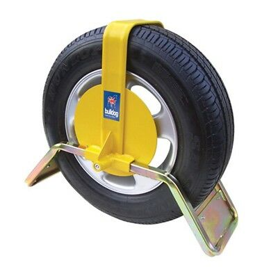Bulldog QD33 Heavy Duty High Security Wheel Clamp