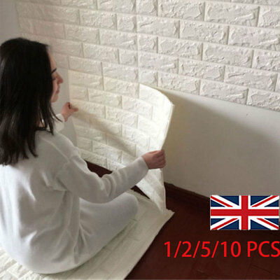 Promotion ! 3D Tile Brick Wall Sticker Self-adhesive Waterproof Foam Panel 60*60