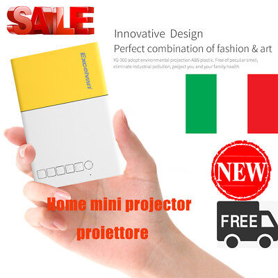 proiettore Home mini projector 320*240p 1080p AV USB, SD card, HDMI interface IT