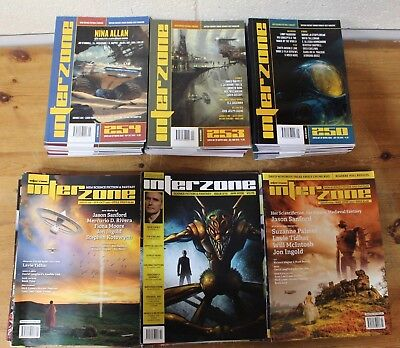 Collection of INTERZONE Sci-Fi Magazines x 58 - 223