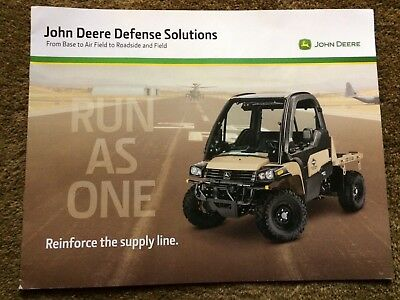 John Deere Defense Solutions 2017 Brochure Very nice LooK WoW !!!!!!