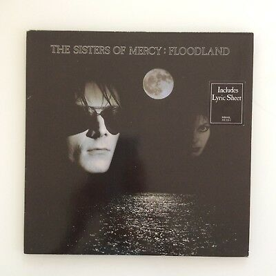 The Sisters Of Mercy Floodland LP Psychedelic Rock Punk Dark Gothic Wave Vinyl