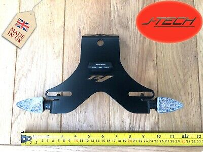 YAMAHA R1 Tail Tidy 2004 - 2014. For Small Number Plates . WITH LED INDICATORS