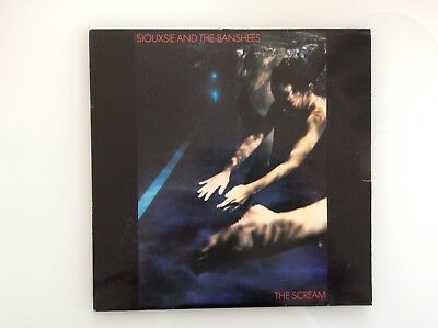 siouxsie and the banshees vinyl LP The Scream