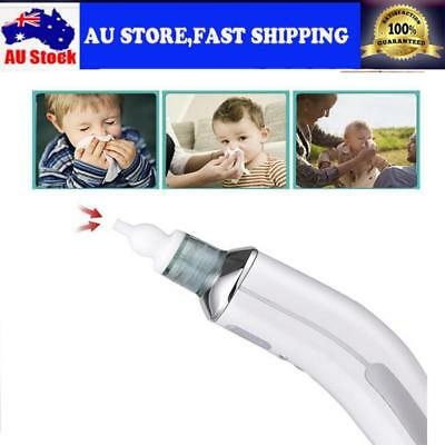 Baby Electric Nasal Aspirator Hygienic Nose Snot Cleaner Suction For Toddler