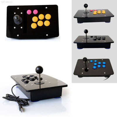 6613 DIY Handle Arcade Game Joystick Acrylic Panel + Case Shell Set Kits Replace