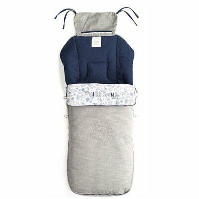 Universal Stroller Footmuff-Blue Moon-Perfect to keep your little one warm!