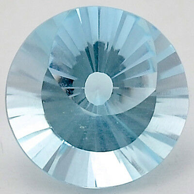 5 Ct AAA Natural Sky Blue Topaz Round Shape 10X10x6.5 mm Cut Loose Gemstone