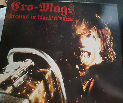 "Cro-mags ""Dream in black 'n' white Recorded live in Bochum 1991 Vinyl LP"