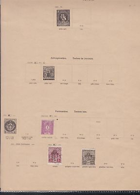serbia stamps page ref 17314