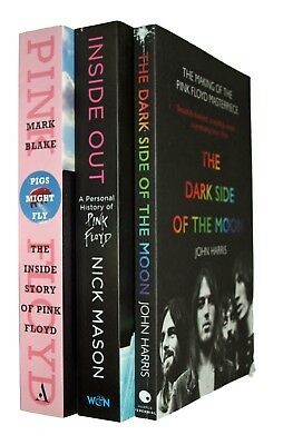 Pink Floyd 3 Books Dark Side of the Moon Pigs Might Fly Biography Music New