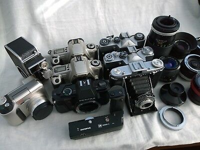 Cameras and Lenses Job Lot