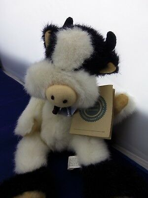 J.B. Beans Boyds Collection Board of Directors Cow/1991/w/Tag