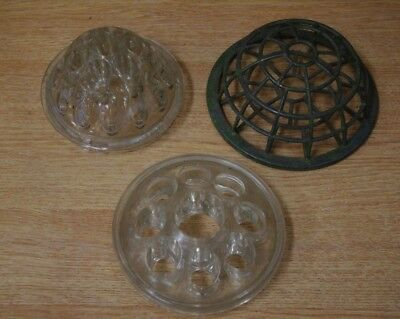 3 Grave Flowers/Vase/Florists Holders Inserts For Displaying/Holding Flowers