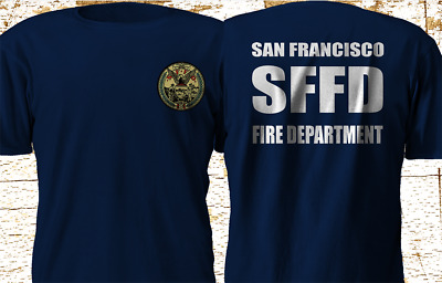 New San Francisco Fire Department Sffd Fire Rescue Navy T Shirt S