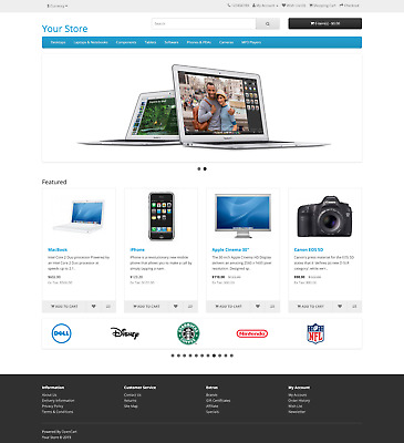 Platinum Ecommerce Website Package, Online Store / Shop, Business Shopping Cart