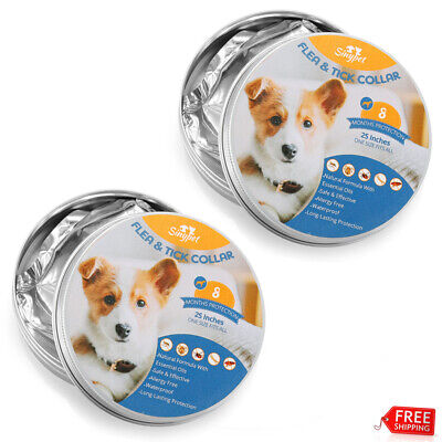 4x Pet Cat Anti Flea and Tick 6-8 Month Protection Cats Dog Collar Waterproof US