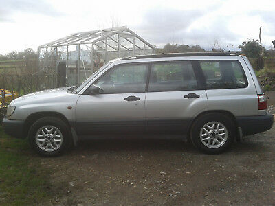 Subaru Forester Awd. 2001 Model. Lovely Condition. Spares Or Repair.