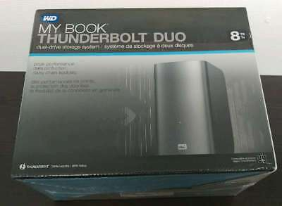 WD My Book Thunderbolt Duo 8TB +WIE NEU+