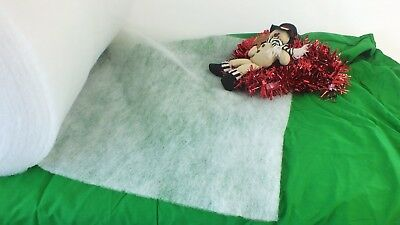 Christmas decoration snow on a roll nativity scene tree base cover grotto snow