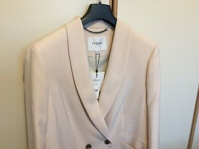 L.K.Bennett Ladies Jacket Powder Pink JK Elodie size 16