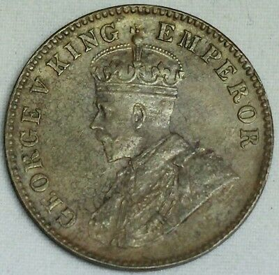 1912 King George V Sailana State 1/4 Anna Copper Coin 224,000 Mintage