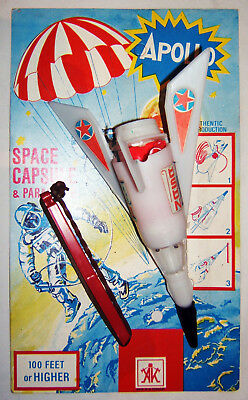 Konvolut, APOLLO + KOSMOS Rakete, AK, W Germany, 1960er, OVP, Space-Toy, Bastler