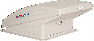 MaxxAir 00-07000K MaxxFan Deluxe White Ventilation System with Remote