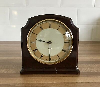 VINTAGE SMITHS BAKELITE MANTLE CLOCK - untested