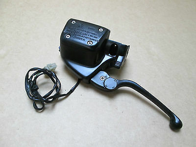 BMW R1150GS Adventure 2002 59,091 miles clutch master cylinder with lever