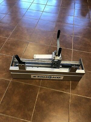 "CLIPPER Roller Lacer 30"" Capacity Conveyor Belt Lacing Tool RL-30"""