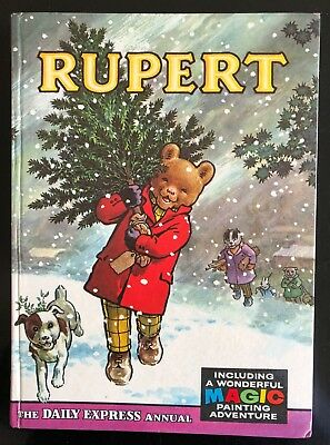 Rupert Annual 1965 Not Inscribed Not Price Clipped Magic Paintings Half Done. F
