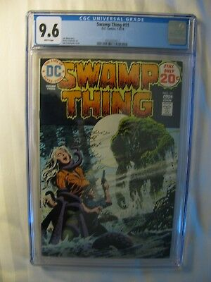 Swamp Thing #11 - CGC 9.6- July-August 1974