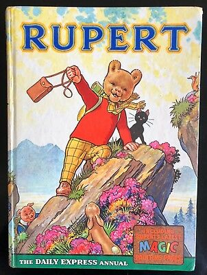 Rupert Annual 1964 Not Inscribed Not Price Clipped Magic Paintings Undone Fine