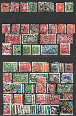 Briefmarkensammlung Neuseeland New Zealand OFFICIAL Cook 98 Stück stamps