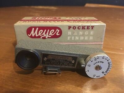 Hugo Meyer Pocket Rangefinder with Box
